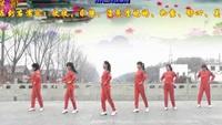 茉莉天津红梅广场舞《相思花开一朵朵》编舞茉莉附正背表演口令分解动作分解教学