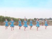 山东滕州协会红荷舞韵广场舞 雪山姑娘 表演