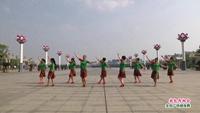 南昌县嘉丽舞蹈队广场舞  敖包再相会 表演 团队版 完整版演示及分解教学演示