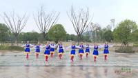 湖南郴州艳兰广场舞 雪山姑娘 表演 个人版 口令分解动作教学演示