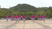 广东省广州市海珠区赤沙镇娇娇舞蹈队 雪山姑娘 表演 个人版 正背面演示及口令分解动作教学和背面演