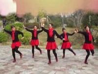 云紫燕广场舞《雪山姑娘》原创动感水兵舞  正背面口令分解动作教学演示