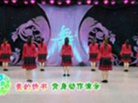 応子广场舞 我的情书 背面展示