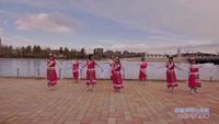 东百村六队桂霞梦之缘广场舞 美丽的雪山姑娘 表演 口令分解动作教学演示
