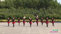 梧桐社区奥邻郡舞蹈队广场舞 雪山姑娘 表演 团队版 完整版演示及口令分解动作教学