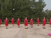 陕西洛川土基广场舞 美丽的雪山姑娘 表演 正背面演示及慢速口令教学