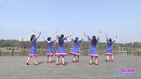 江西乐平芊芊广场舞 雪山姑娘 表演 原创附正背面教学口令分解动作演示