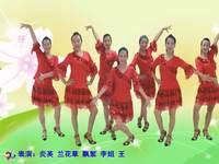 福建融侨李姐广场舞 暖暖的幸福 表