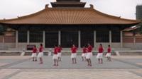 固始县香樟苑广场舞 美丽的雪山姑娘 表演 团队版