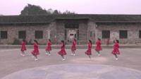 岳阳公田港美舞蹈队广场舞 美丽的雪山姑娘 表演 团队版