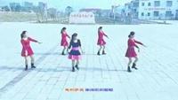 田镇红儿广场舞    美丽的雪山姑娘口令分解动作教学演示
