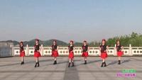 霍山黑石渡广场舞 雪山姑娘 表演 团队版 原创附教学口令分解动作演示