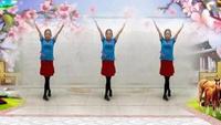 長安水仙花廣場舞《中國大媽》原創附分解教學完整版演示及口令分解動作教學