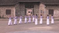 岳阳杨林友谊舞蹈队广场舞 国韵 表演 团队版