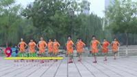 河北省邯郸市乐悠悠舞队广场舞 雪山姑娘 表演 团队版 完整版演示及分解教学演示