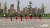 抚州春子广场舞 雪山姑娘 表演 正背面演示及口令分解动作教学