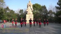 岳阳白杨舞蹈队广场舞 雪山姑娘 表演 团队版