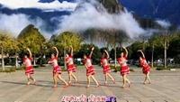 长兴轻纺城广场舞《敖包再相会》编舞:丽萍老师正背面演示及慢速口令教学