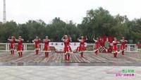 郑州市高新区通和社区舞蹈团4队广场舞 雪山姑娘 表演 团队版 完整版演示及口令分解动作教学