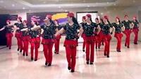 上海耀华广场舞队---雪山姑娘附正背表演口令分解动作分解教学