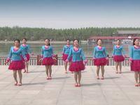 陜西華州小丫俏妮廣場舞 小雞小雞 背面展示