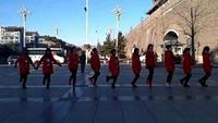 《雪山姑娘》河北宣化《快乐炫舞》舞队,编舞温老师完整版演示及口令分解动作教学