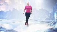 挚爱广场鬼步曳舞 花式2018 雪山姑娘正背面演示及口令分解动作教学