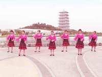 西安曙光广场舞 美丽雪山姑娘 表演