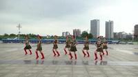 樟树回龙古巷开心姐妹队广场舞 雪山姑娘 表演 团队版 完整版演示及口令分解动作教学