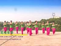 衡阳乐在其中广场舞 花样年华 表演