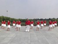 滕州墨乡广场舞队广场舞  雪山姑娘 表演 团队版