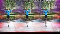上海芳华广场舞《雪山姑娘》经典正背面演示及口令分解动作教学