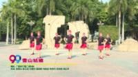 广西南宁里仁健身队广场舞  雪山姑娘 雪山姑娘 表演 团队版