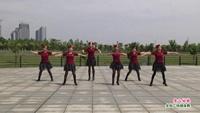 抚州玉茗广场舞 雪山姑娘 表演 正背面演示及口令分解动作教学和背面演