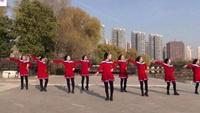 美久广场舞《红豆红》抒情舞蹈附导