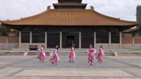 汪棚镇舞动人生舞蹈队广场舞 美丽的雪山姑娘 表演 团队版