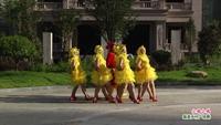 玉山木蘭藝術團廣場舞 小雞小雞 表演 團隊版 完整版演示及分解教學演示