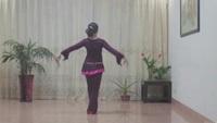 沙县舞之缘广场舞《花楼恋歌》经典正背面演示及口令分解动作教学