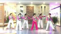 铜陵醉月广场舞团队表演:《最真的梦》原创附正背面教学口令分解动作演示