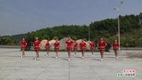 靖安香田久久广场舞 雪山姑娘 表演 团队版 正反面演示及分解动作教学