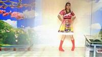 陕西爱的天使广场舞《美丽的雪山姑娘》正背面口令分解动作教学演示