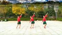 山东龙口辣妈舞蹈队【雪山姑娘】编舞;格格老师正背面演示及慢速口令教学