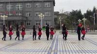 天门彭市霞光健身队《第九套水兵舞》口令分解动作教学