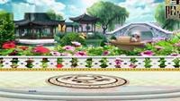 長安水仙花廣場舞星星摳像動態背景《外婆的澎湖》九口令分解動作教學