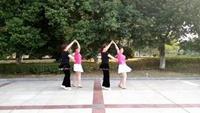 快乐浯溪舞队 小组双人舞 《天下最美》口令分解动作教学