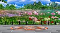 長安水仙花廣場舞星星摳像動態背景《心情好了》正背面演示及口令分解動作教學和背面演