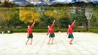 山东龙口心悦广场舞《雪山姑娘》编舞:格格原创附正背面教学口令分解动作演示