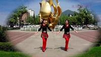 舞动人生舞蹈队《雪山姑娘》编舞:春英正背面演示及口令分解动作教学和背面演