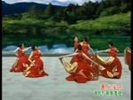 杨艺舞蹈 映山红 队形演示 正背面演示及口令分解动作教学和背面演