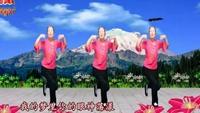 凤凤广场舞《雪山姑娘》正背面演示及慢速口令教学